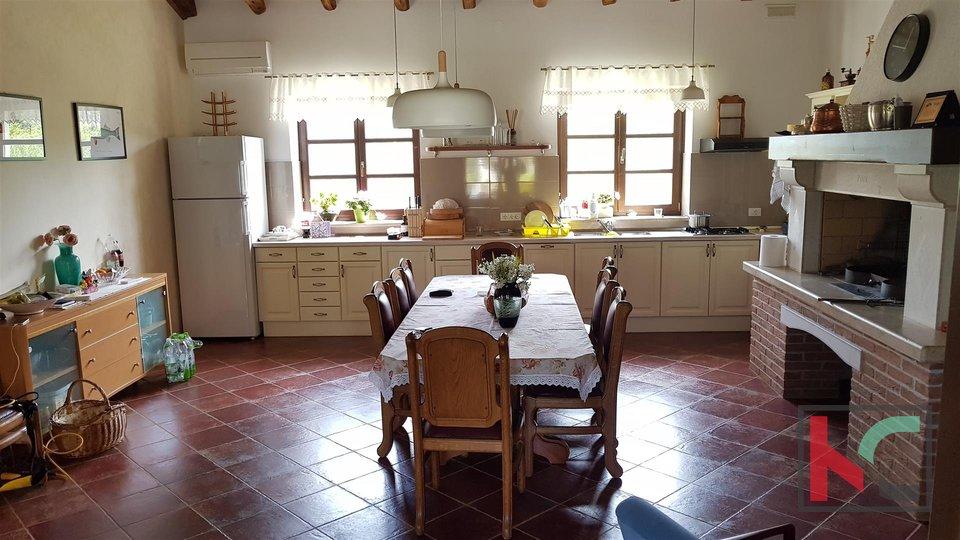Bale una villa attraente con quattro stelle in stile rurale istriano circondato da una grande proprietà recintata di 32.000 m2.