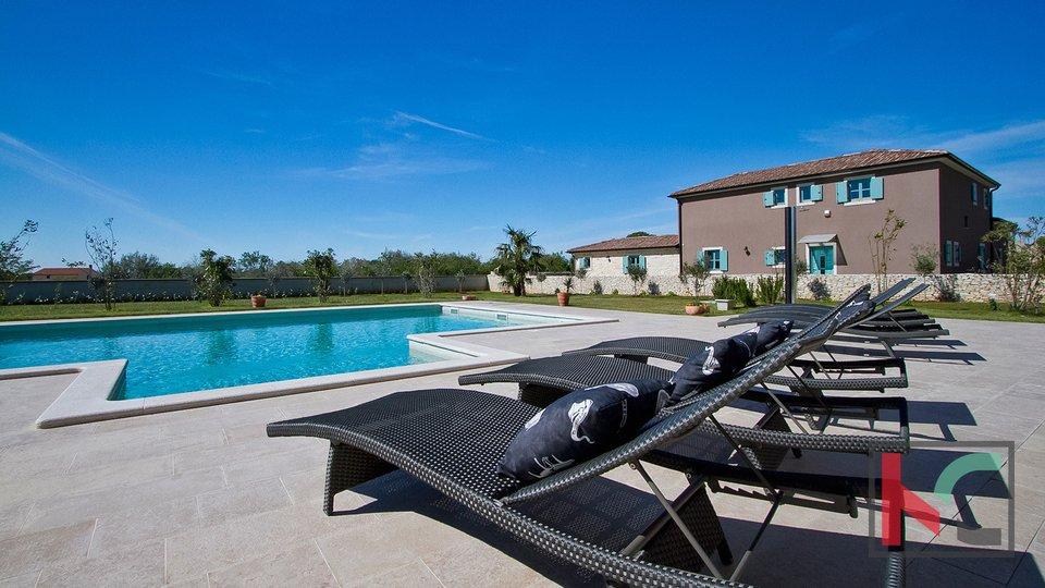 Istria - Juršić beautiful villa 400m2 on a spacious garden / pool 60m2