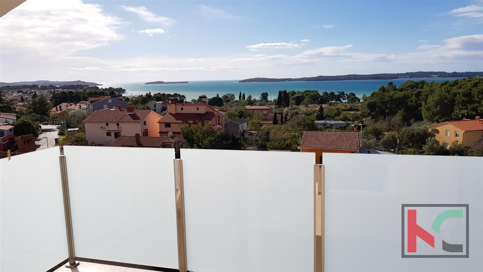 Fasana, attraente appartamento a due piani e vista panoramica su Brijuni e sul mare