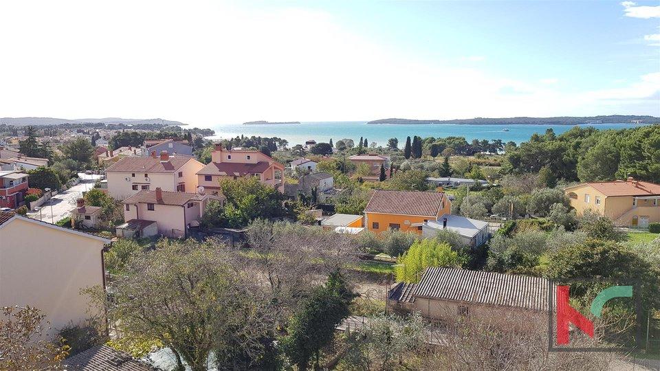 Fazana, attractive two-storey apartment and panoramic view of Brijuni and the sea