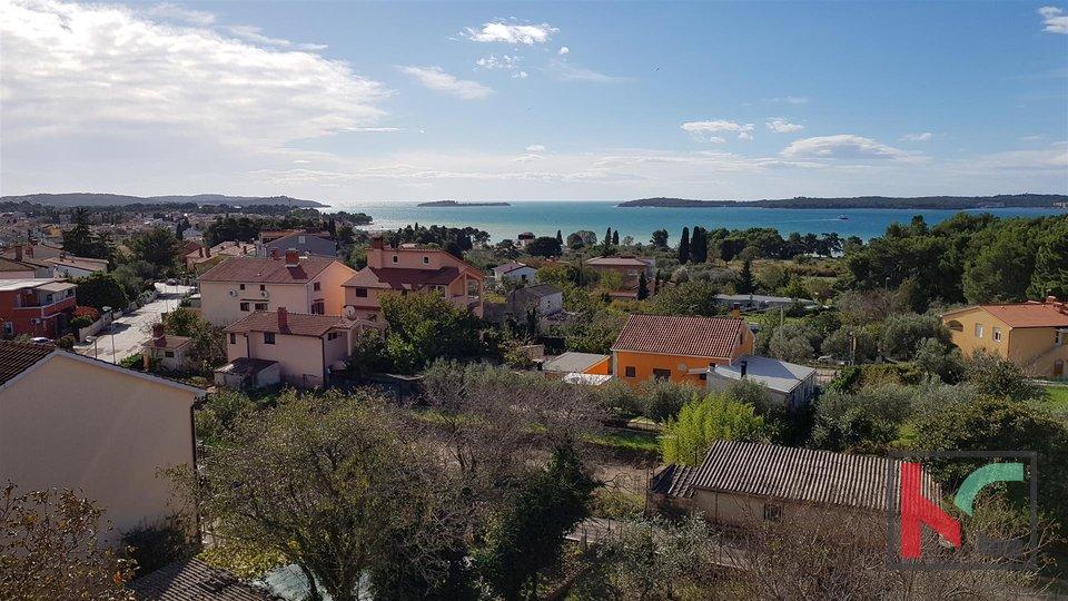 Fazana, attractive 93,23m2 two-storey apartment and panoramic view of Brijuni and the sea