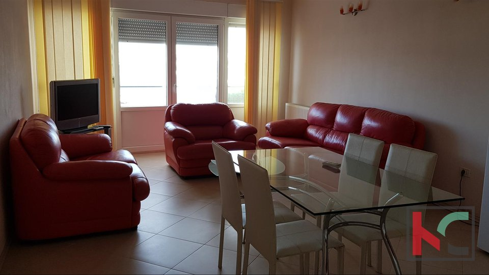 Istria, Medulin apartment 60m2 on a promenade overlooking the sea