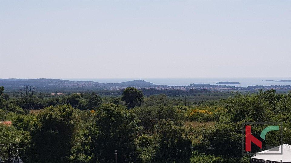 Istra, Galižana atraktivna kuća sa bazenom i panoramskim pogledom na otočje Brijuni