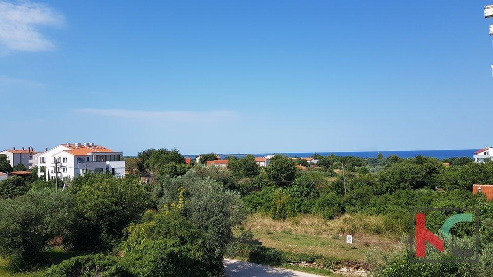 Istra, Peroj, dvosoban stan 64,67m2 sa pogledom na more