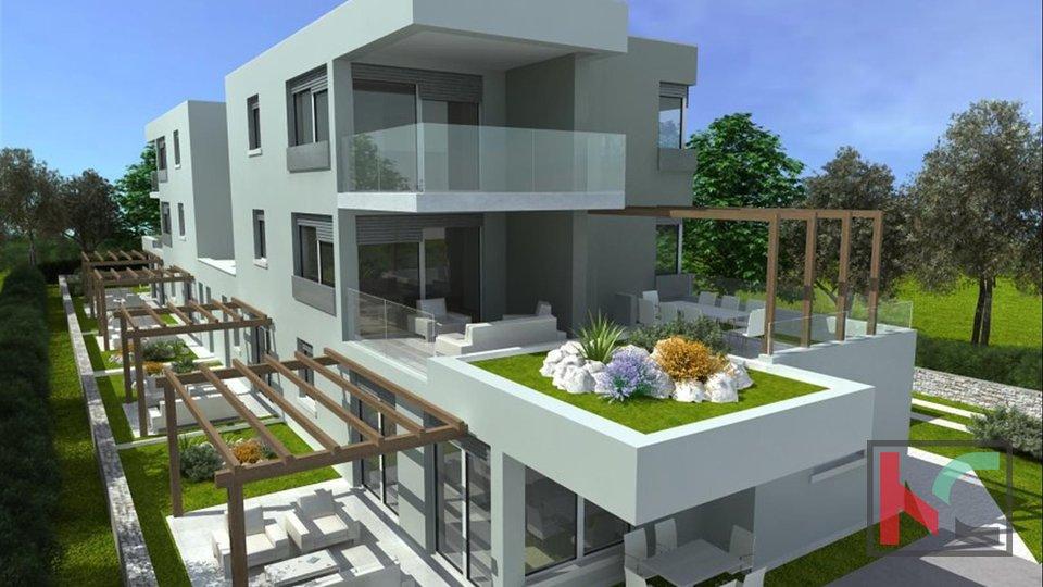 Stinjan, 94m2 luxury luxury building