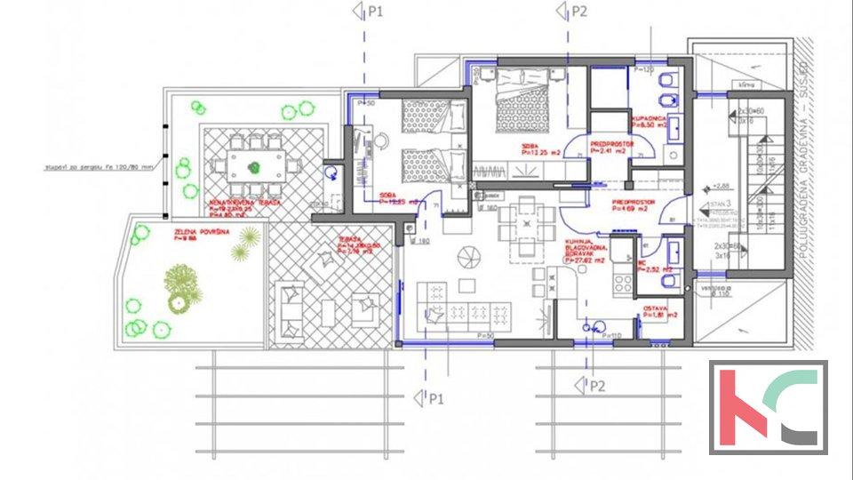 Stinjan, 94m2 Luxus-Luxusgebäude