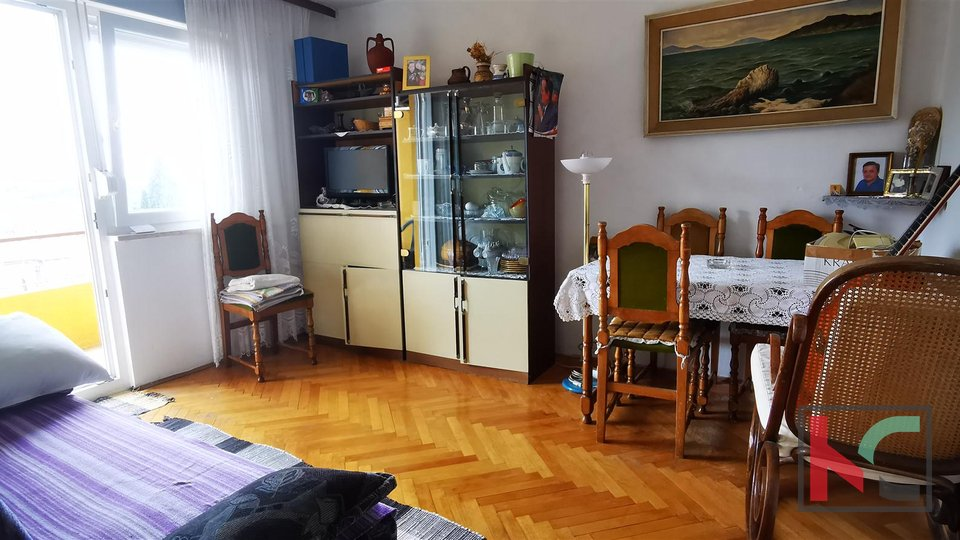 Pula, Centar, 51,11m2 two bedroom family apartment 300m from the market