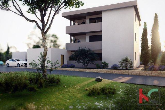 Medulin, appartamento al primo piano 62,92 m2 in costruzione