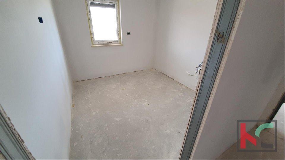 Istra - Premantura - Volme, stan 50m2 u kvalitetnoj novogradnji na 1. katu - 2 spavaće sobe I POGLED