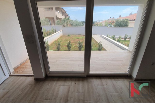 Istria, Peroj-Barbariga, Two bedroom apartment 70.38 m2 with 60 m2 garden