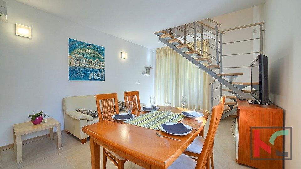 Istria, Premantura - Volme, three bedroom apartment 67.19 m2 with pool