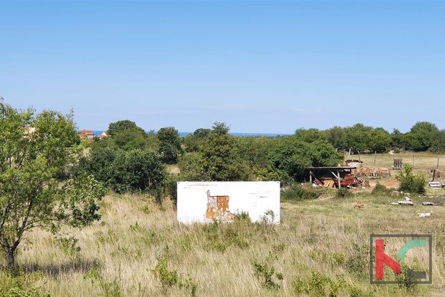 Istria - Vodnjan building land for business and residential purposes with sea view