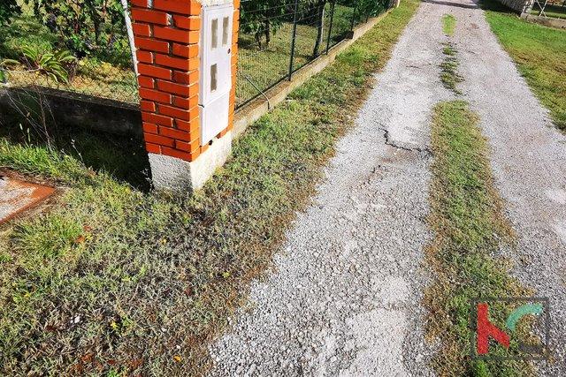 Istrien, Stinjan, Bauland 544m2 in ruhiger Lage, ideal für ein Familienhaus