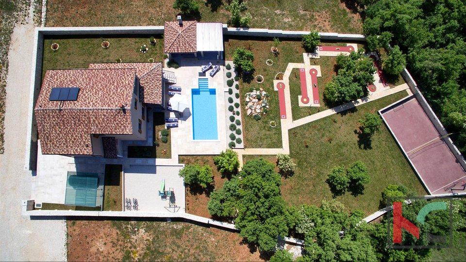 Štokovci - Luxus 4 * Villa mit einem Garten von 2000m2