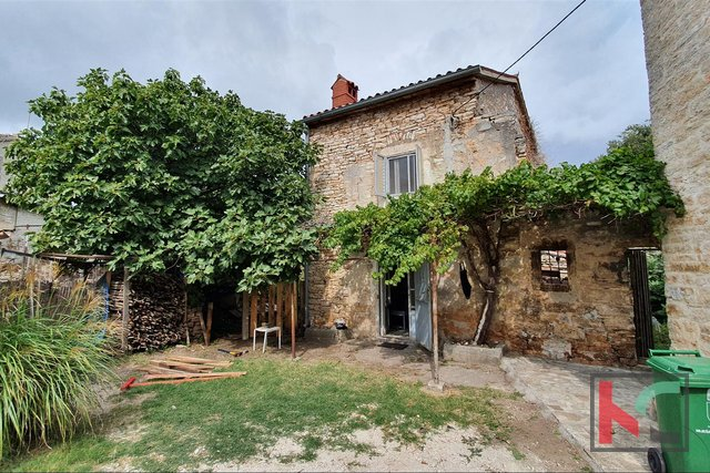 Istria, Šišan, House and ruins on a plot of 201m2