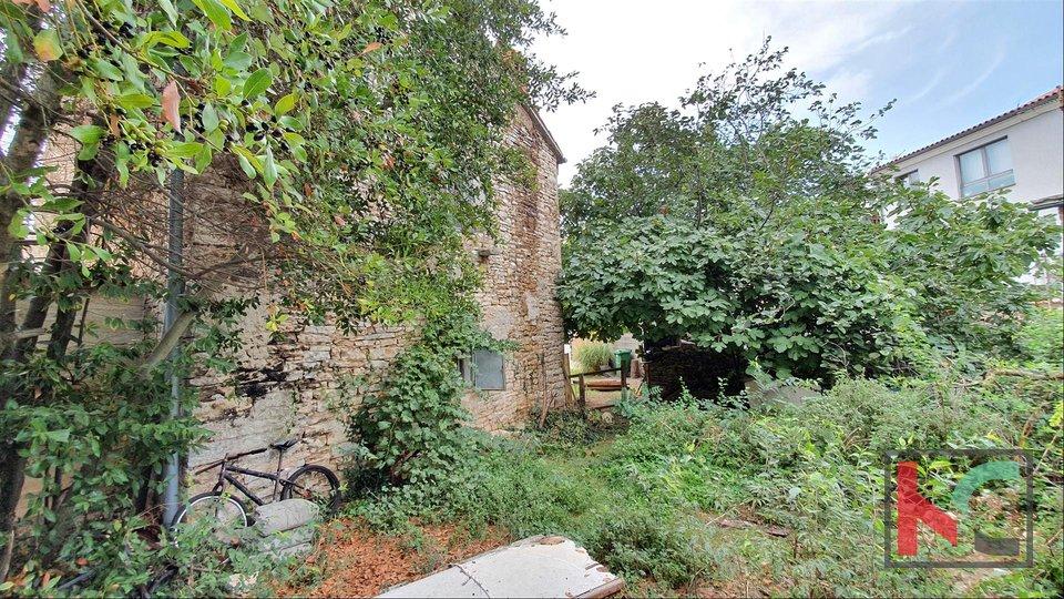 Istria, Šišan, House and ruins on a plot of 201m2