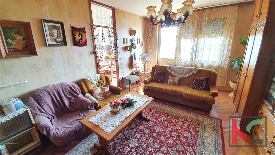 Pula - Veruda, three bedroom apartment 79m2 and attractive location and close to the sea