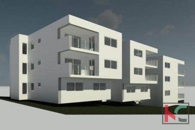 Pula, Center, Apartment mit vier Schlafzimmern, 104 m², in einem luxuriösen neuen Gebäude