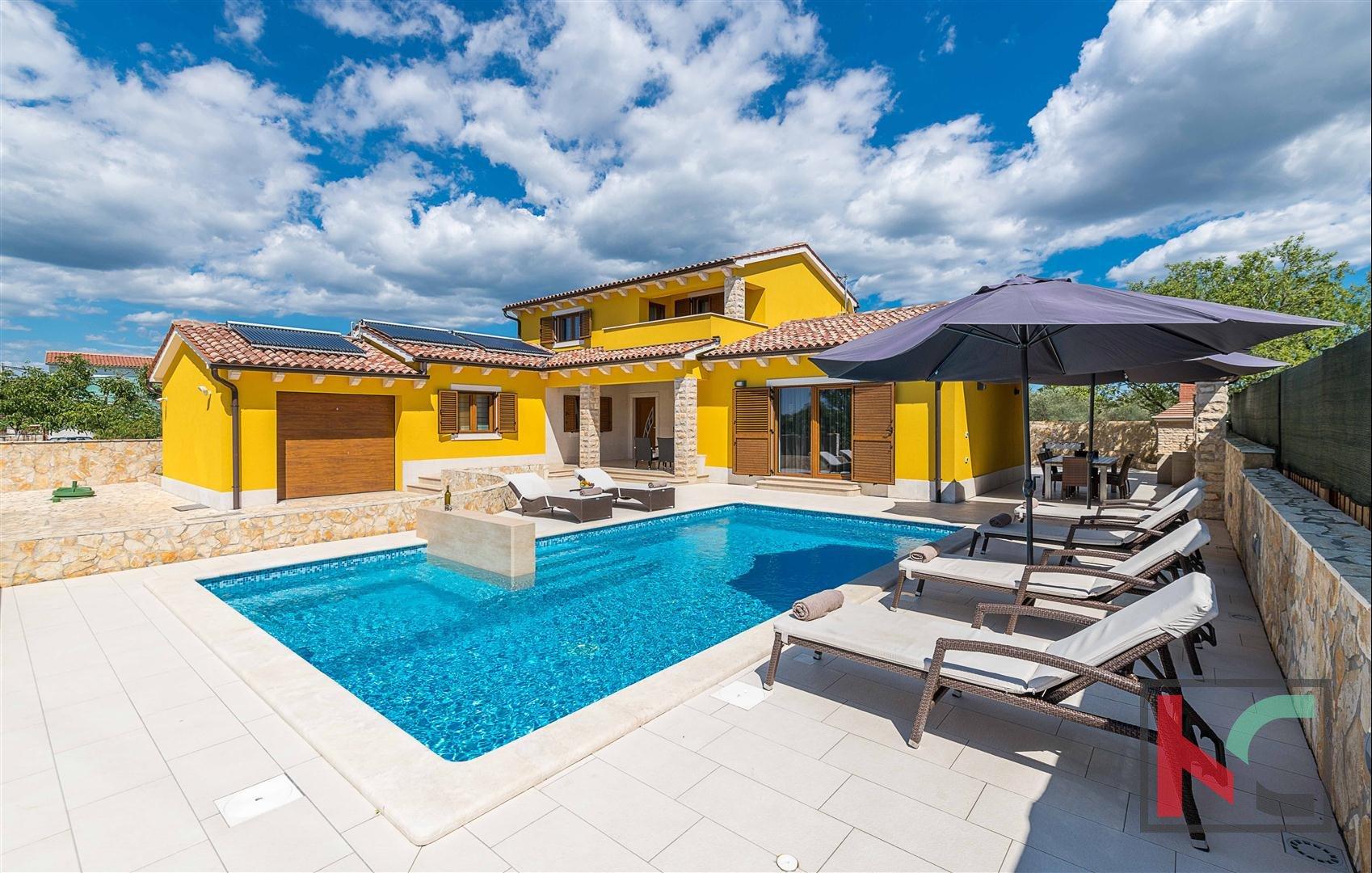 Istria Villa Moderna 280m2 Con Piscina Neel Con Pula