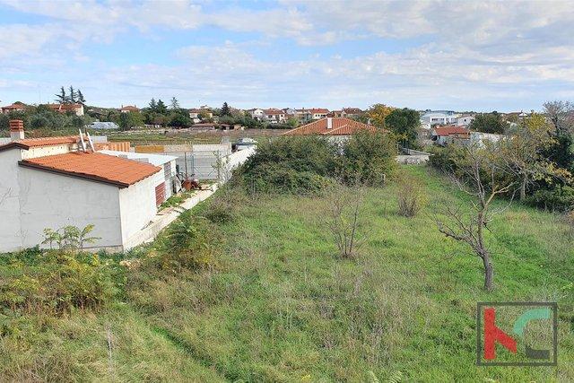 Istra - Vodnjan, garđevinsko zemljište 1023m2 II pogled more