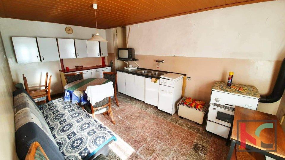 Istrien - Čabrunići, Doppelhaushälfte mit viel Potenzial in der Nähe von Svetvincenat