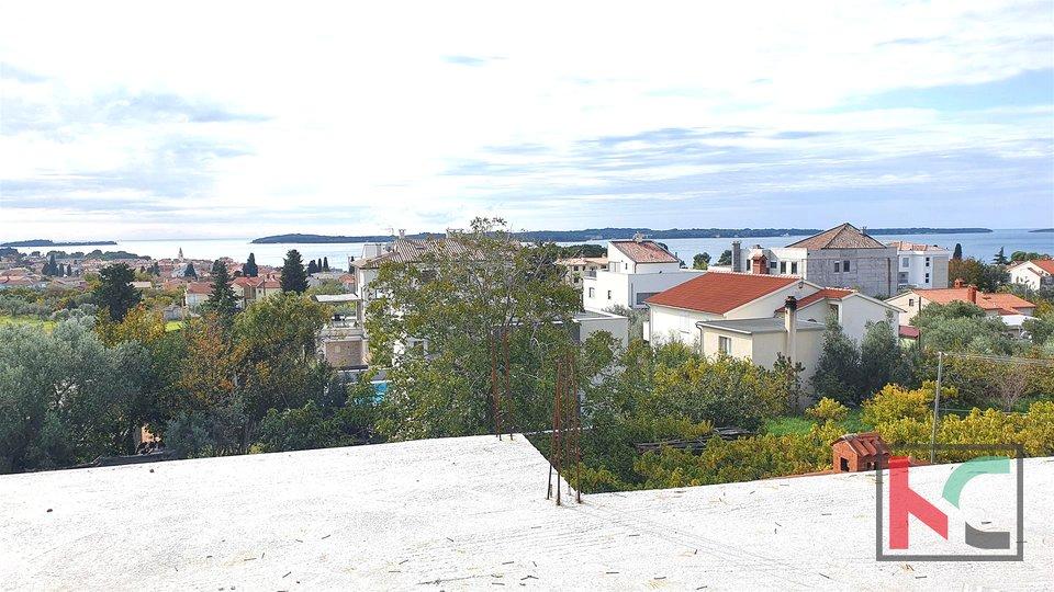 Istria - Fažana, modern villa under construction II panoramic view of Brijuni