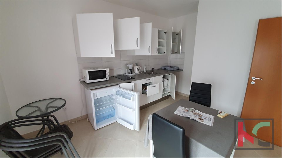 Istria - Fazana, one bedroom apartment 38.42 m2 in a new building II 200 meters from the beach