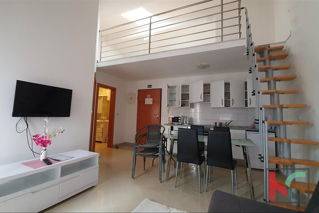 Istria - Fazana, duplex apartment 53.18 m2 in a new building II 200 meters from the beach, sea view