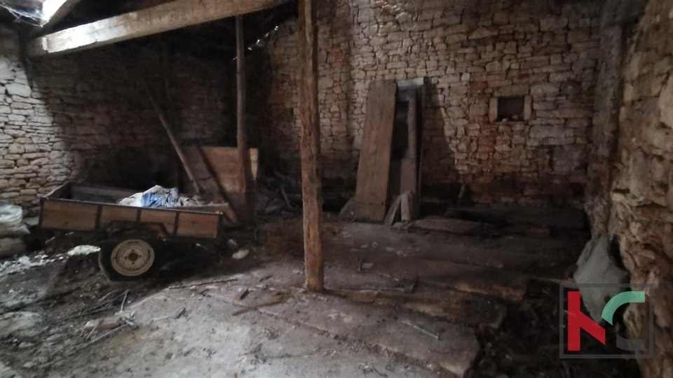Vodnjan, old stone house for renovation 50m2, quiet location