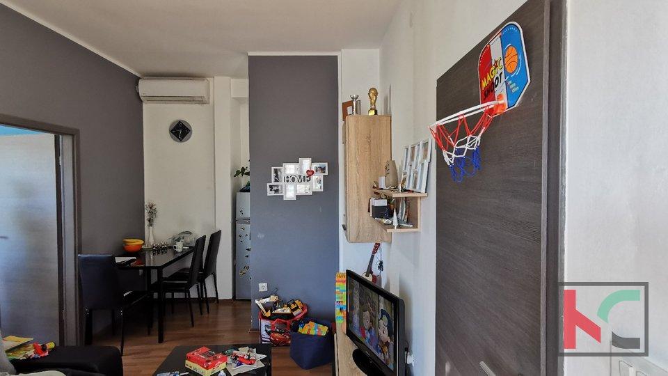 Pula, Kaštanjer, dvosoban stan 29,26m2 na frekventnoj lokaciji