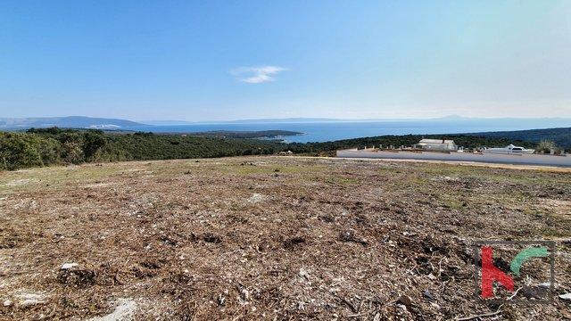 Istrien - Pavićini - Duga uvala, Land 9000m2 mit Panoramablick auf das Meer