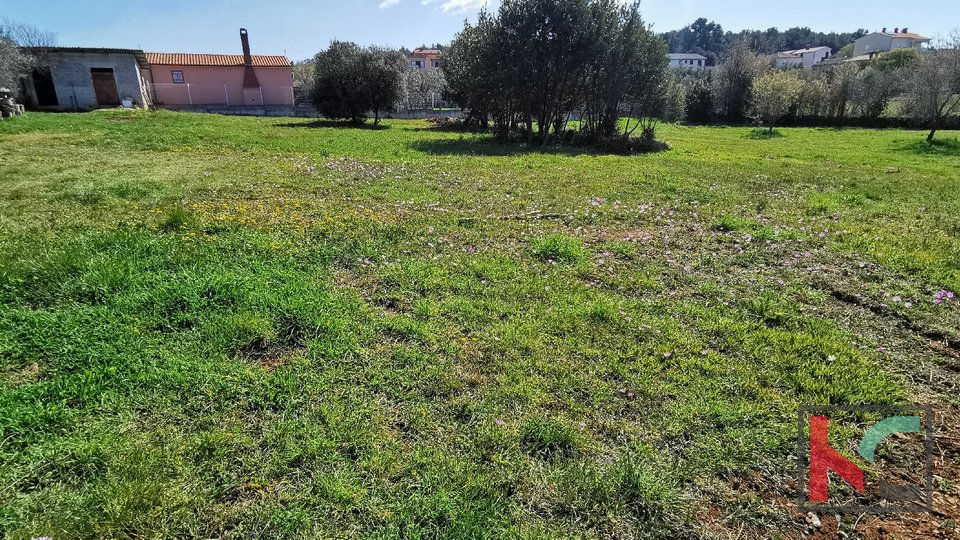 Pula, Veli Vrh, building land 967m2 rectangular format