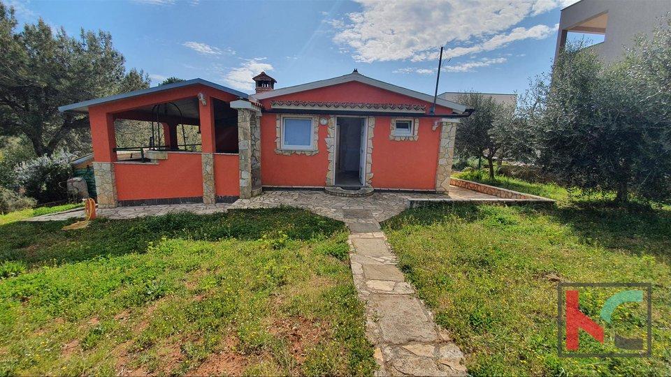 Istrien - Medulin - Pomer, Haus mit Meerblick
