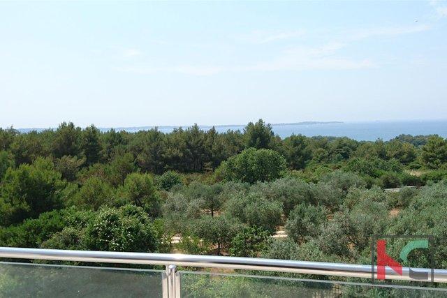 Istria, Peroj attraente appartamento al secondo piano 114m2 con vista mare / ARREDATO