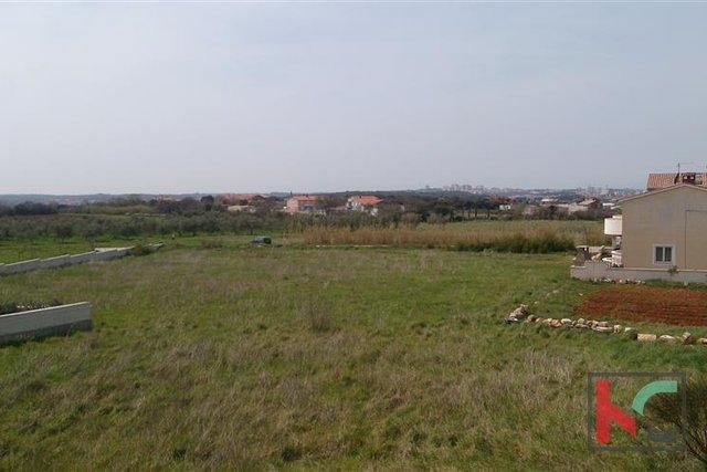 Pula, građevinsko zemljište s pogledom.