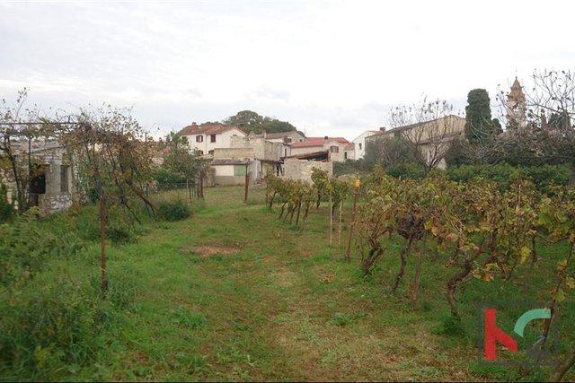 Istra-Peroj, building plot 955m2 + HOUSE - sea view