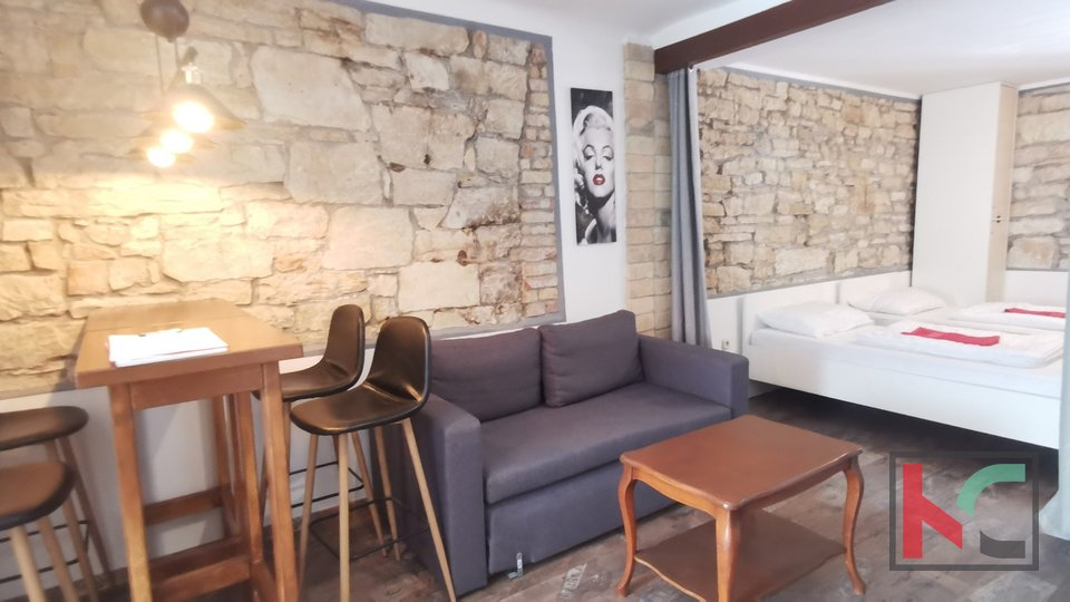 Istra, renovirani stan 37,52m2 u centru Pule