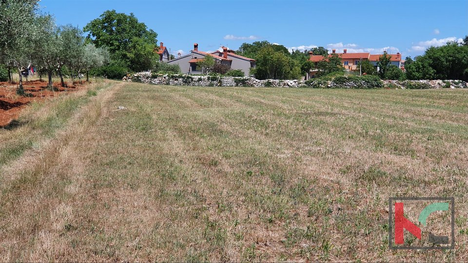 Building land 1418m2 great location near Svetvincenat