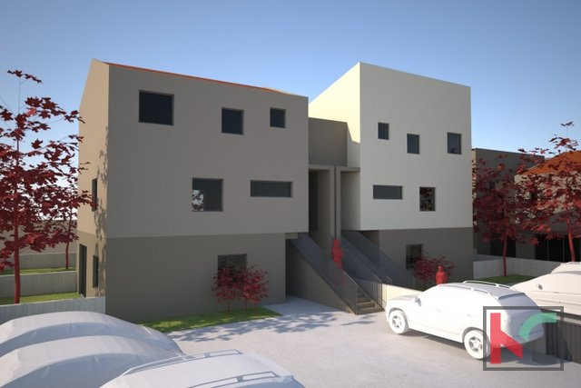 Pula, Veli Vrh, apartment 83.80 m2 in a new building with 3 bedrooms