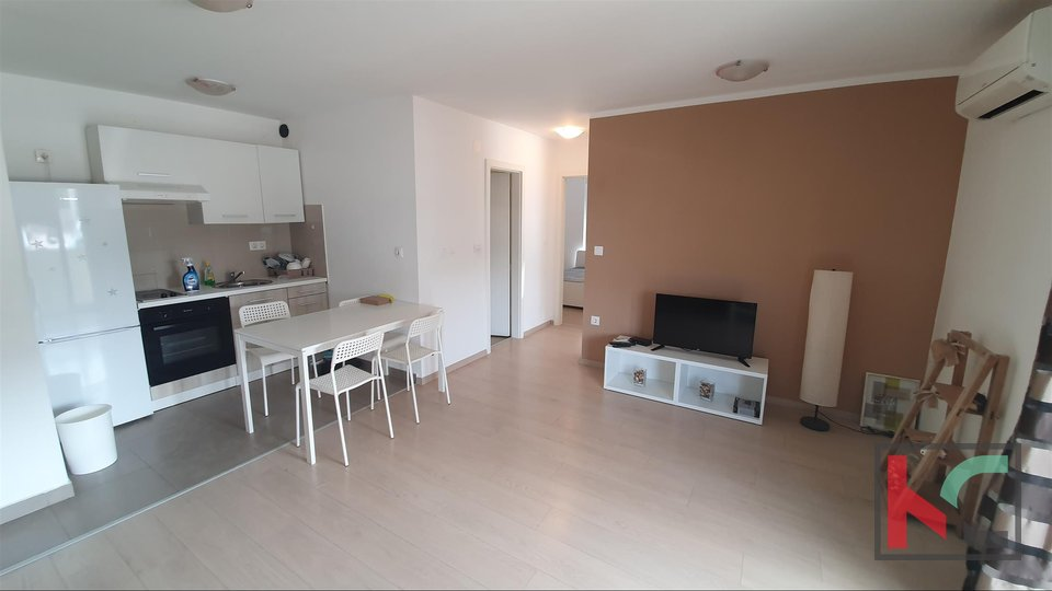 Pula, ground floor apartment of 52.76 m2 with parking