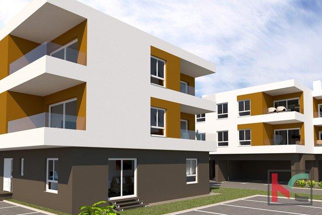 Istria, Peroj, appartamento con due camere da letto in un nuovo edificio in una posizione tranquilla
