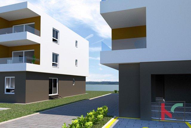 Istria, Peroj, apartment in a new building near Fazana