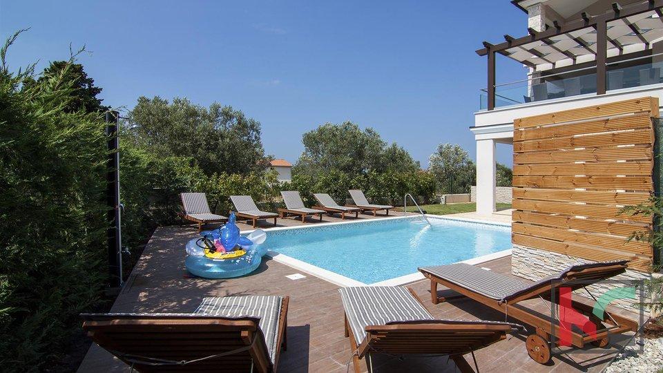 Fažana, luksuzna Villa s bazenom, panoramski pogled