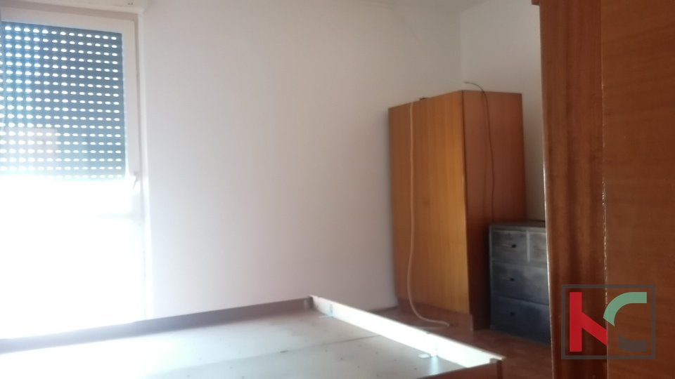 Pula, Vidikovac, two bedroom apartment on the 11th floor with a beautiful view
