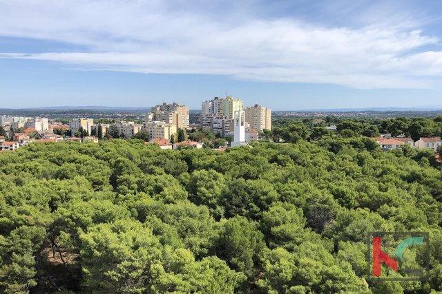 Pula, Veruda stan 56,83m2 s panoramskim pogledom