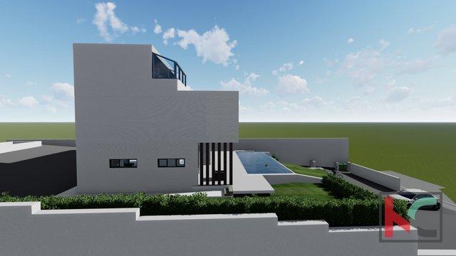 Istrien - Pula, prestigeträchtige Villa mit Infinity-Pool im Bau II Meerblick - Brijuni