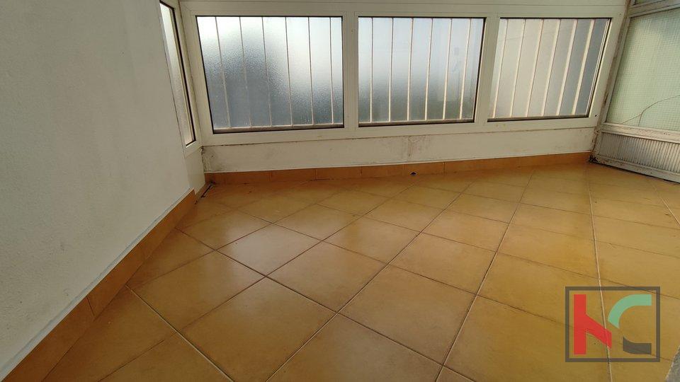 Pula, Veruda, apartment 40.73 m2 sea view, 500m from the beach