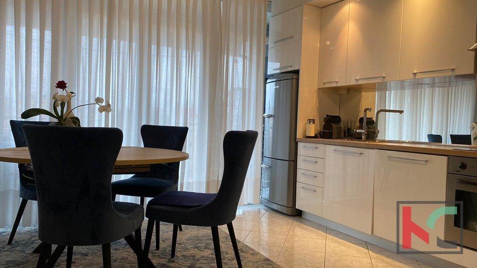 Pula, Kaštanjer, stan 58,83 m2 sa balkonom i dvije spavaće sobe