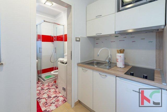 Pula, moderno stanovanje v pritličju 39,49 m2