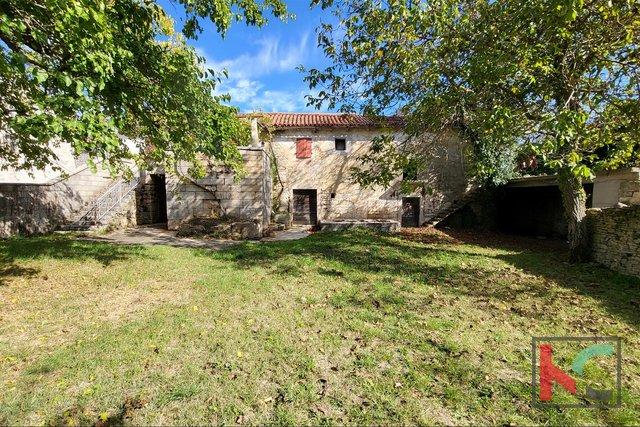Istra, redka samostojna istrska kamnita stara hiša na vrtu 687 m2, v bližini Rovinja